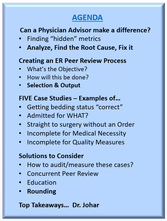 physician online | epas | physician advisor education